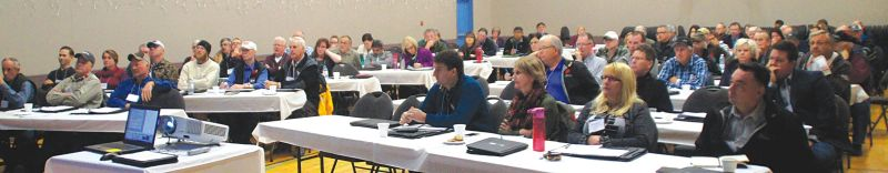 One-hundred people from around the Peace Country attended the regional ASB conference in Guy on Nov. 5.