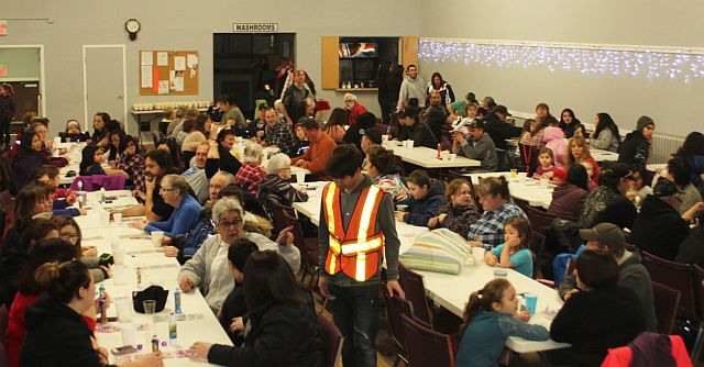 McLennan Family Day got started with a full house bingo event at the Elks Hall.