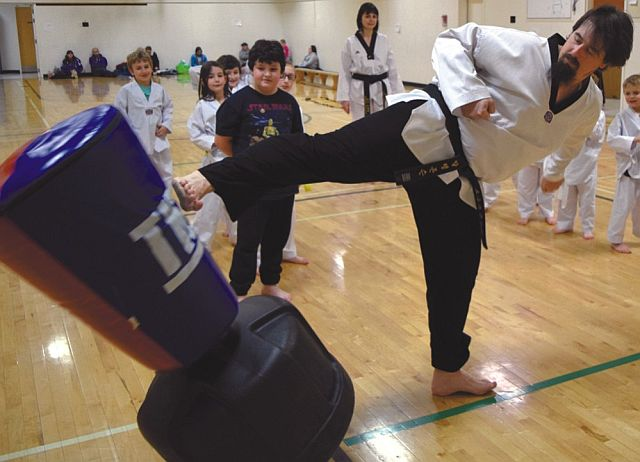 Alain Johson has been involved with Taekwondo for 13 years, including 11 years as an instructor.