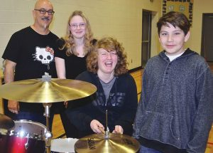 SPOTLIGHT – Dummies' drummer urges students to beat drugs and alcohol
