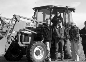 "Ag society welcomes ""new"" tractor"