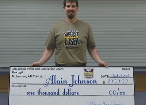 """Alain Johnson wins 2016 """"Biggest Loser"""" weight loss competition"""