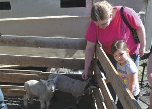PIC – Petting zoo for Fern's Greenhouse event