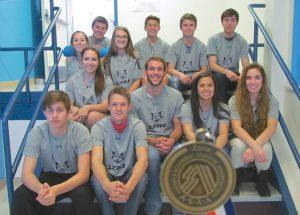 SPORTS – Zones medalists in  senior badminton, Ecole Heritage