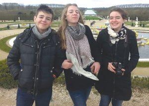 Ecolé Heritage exchange students highlight their time spent in France
