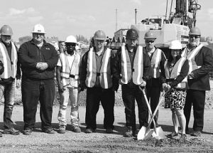 PIC – New fire hall construction starts