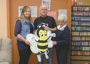 With the Honey Festival on the horizon, Falher Friendship Corner gets busy with wooden bee project