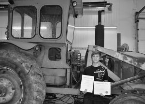 Local student is on the path to a career in power engineering