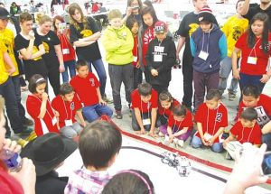Grouard students shine at Robotics Tournament