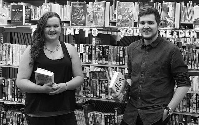 Summer library staff at McLennan Library, Lindsay Wells and Jessie Benoit, begin their seasonal positions on July 4.