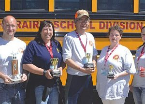 Rookie drivers make the grade in bus roadeo
