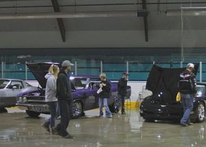 The rain took none of the shine off McLennan & District Chamber, Show and Shine event