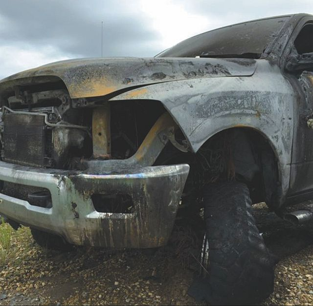 The End Result Of A Lightning Strike Driver Was Not Injured