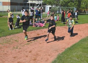 Ecole Routhier holds track and field event June 1-2