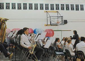 Concluding a busy and successful year, G.P. Vanier Band program gives end of season concert