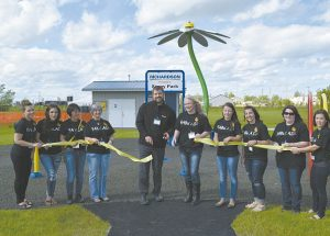 Richardson Pioneer Spray Park is officially open for public use