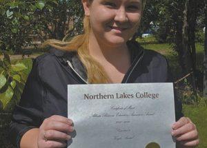 Falher NLC graduate receives Alberta Business Educators Association Award