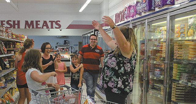 A rewarding 50 seconds at Lakeview Foods for McLennan mother of two