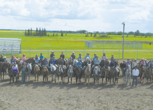 Gymkhana event draws riders from Alberta and British Columbia, organizer touts it as a great success