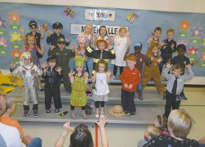 PIC – Ecole Routhier sends the French Kindergarten students on their way