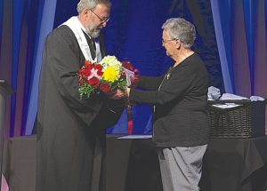 Lilian Beland receives NLC Award