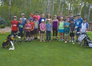 Junior golf program wraps up at the 5 Star Golf Club