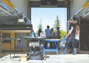 Northern Lakes College rolls out the big equipment