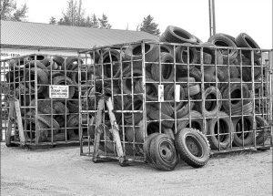 Alberta tire recycling effort hits 100 million