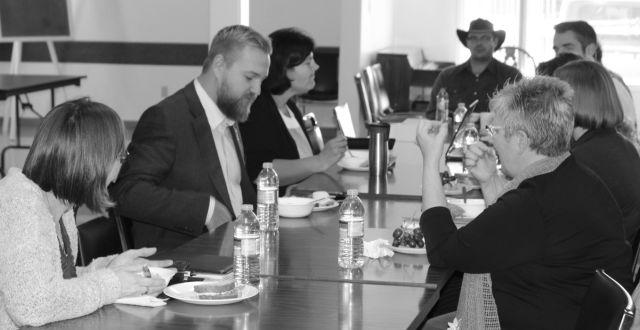 "Wildrose MLA, Derek Fildebrandt  brings ""Open for Business Tour"" to McLennan & District Chamber of Commerce"
