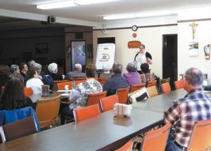 FCSS holds informative Alzheimer's presentation at Club des Pionniers in Donnelly