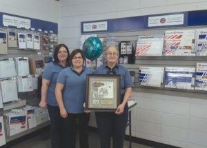 PIC – Postal worker retires after 22 years of service