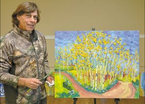 Group of Seven member paints Watino landscapes