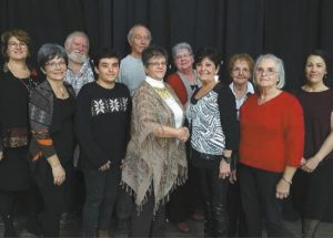 Genealogy society volunteers recognized at supper event