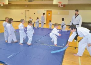 Taekwondo classes offered to all ages at Georges P. Vanier