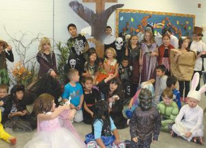 Ecole Providence students got a great assortment of treats for Halloween