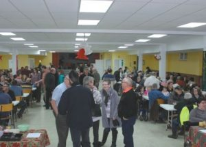 St. John the Baptist turkey and tourtiere supper, a successful fundraiser and great community event