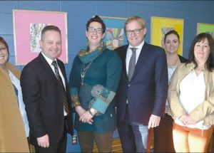 PIC – Trustees meet the minister