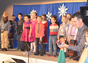 Ecole Heritage shows a variety of performances for their Christmas concert