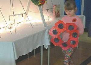 Providence students show their respect for veterans at Remembrance Day ceremony