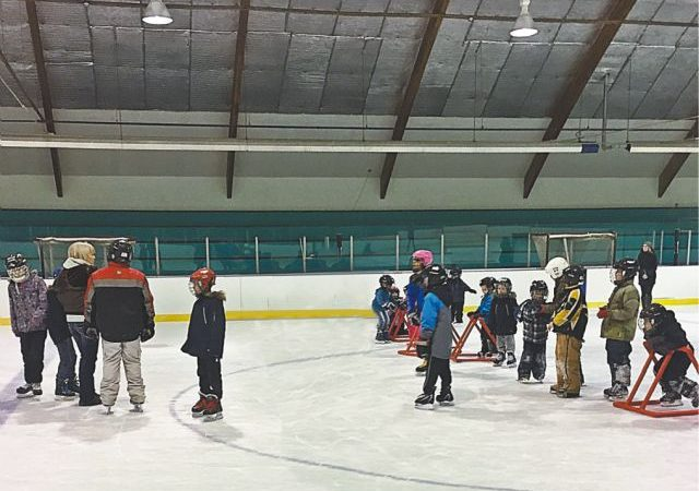 Students take to the ice for the second year of Providence School skating program