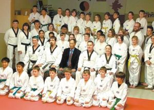 PIC – Taekwondo members advance in their respective categories
