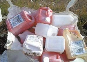 Fieldman's Files – Pesticide container collection