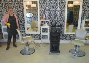 Smitten hair & beauty is located in Girouxville, all clients including children are welcome