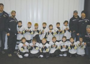 Squirts team hosts tournament, takes first place