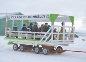 Family Day activities held in Donnelly, Jean Cote