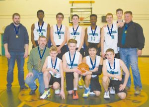 GPV senior boys' basketball team wins gold at home in divisional tournament