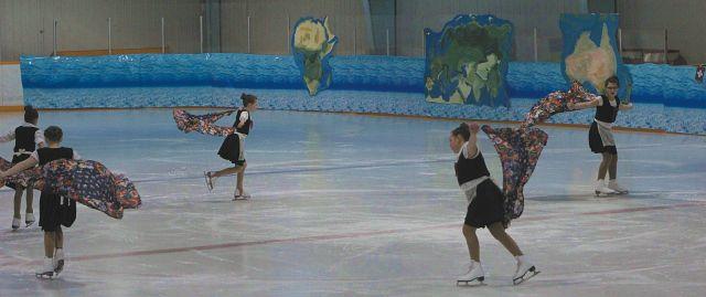 Twilight Figure Skating, Carneval 2017 travelled 'All around the world'
