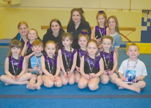 Smoky River Gymnastics Club ends the season with a fun meet