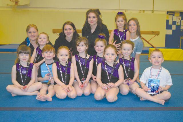 Smoky River Gymnastics Club ends the season with a fun meet
