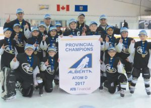 We are the champions!!! Smoky River Atom team brings home provincial banner